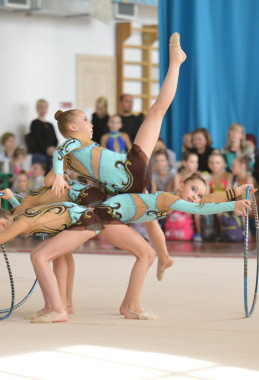 Первенство Кировской области по художественной гимнастике памяти Е.А. Борхес