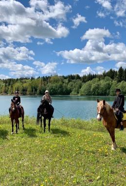 Двухдневный конный тур