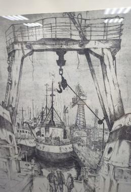 Выставка памяти Виктора  Бакина.