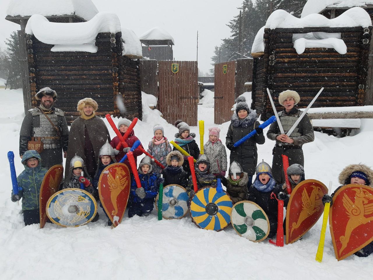 Встречаем зиму в Порошино!