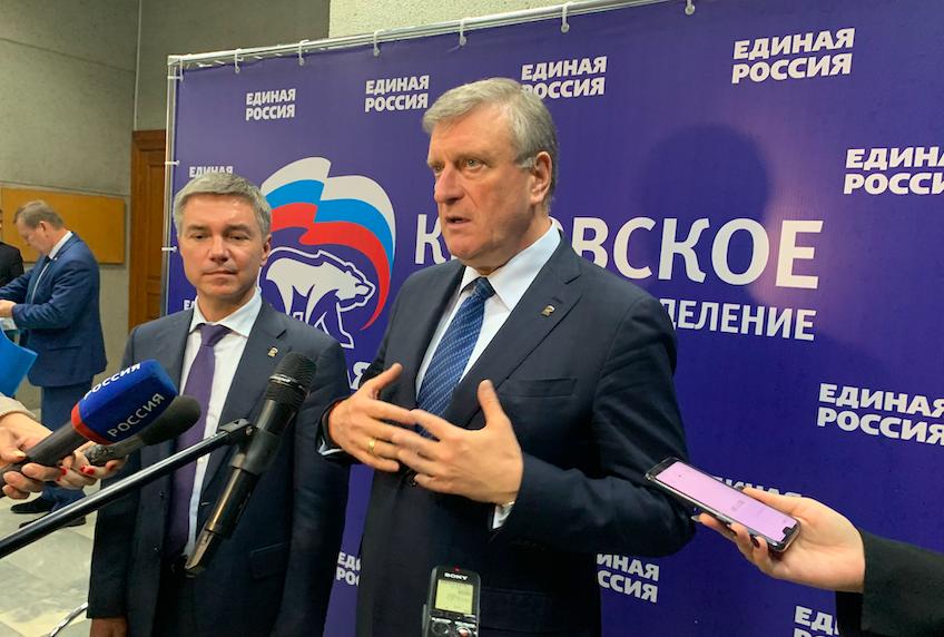 Игоря Васильева избрали главным единороссом Кировской области