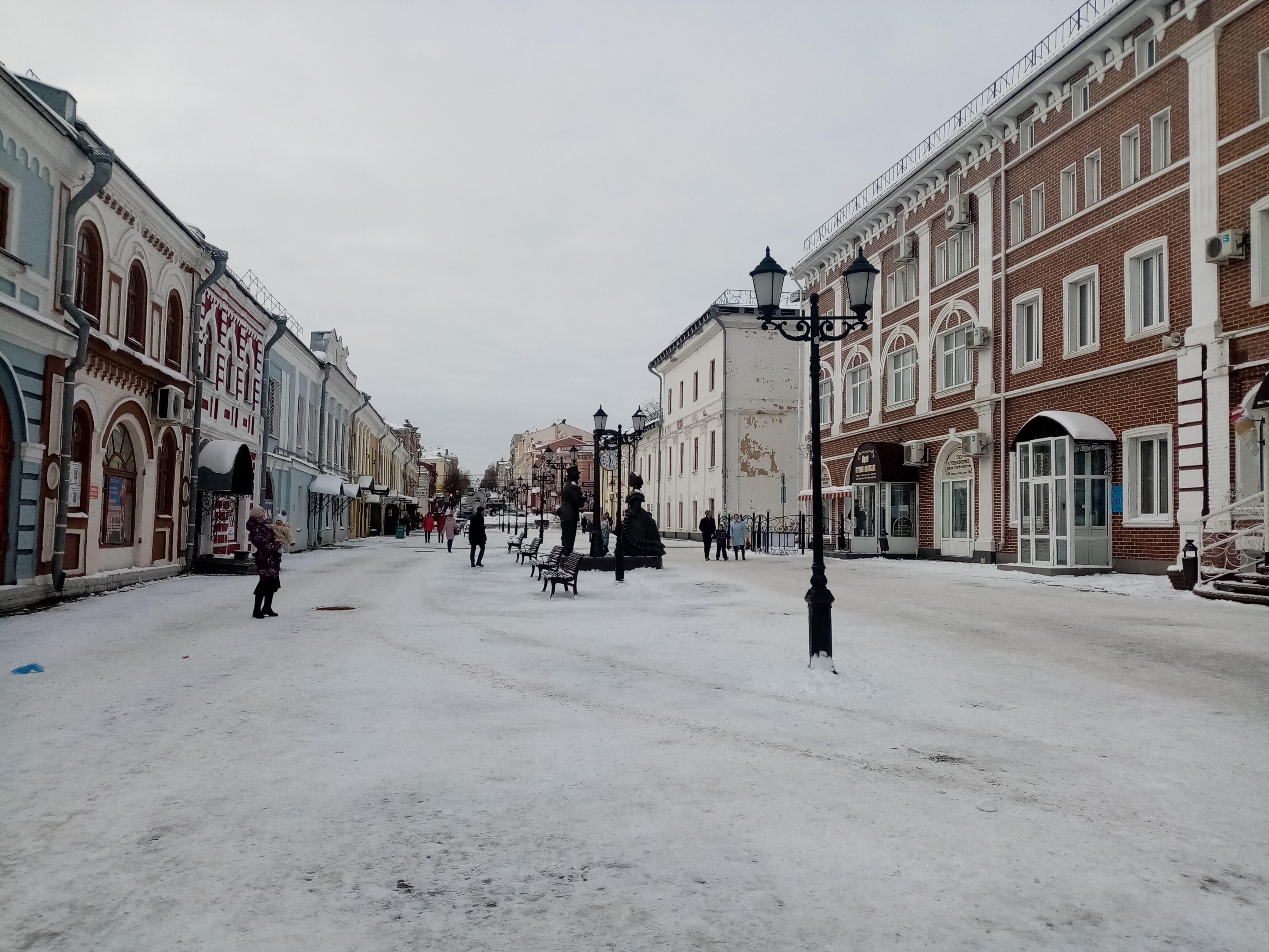 Декабрь в Кирове начнётся со снега и минусовой температуры