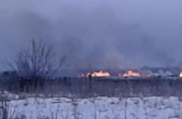 Незаконную свалку в Малмыжском районе «утилизировали» путем сжигания