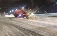 С главных городских улиц вывезли 3200 кубометров снега