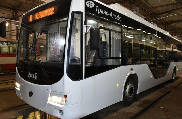 На городские улицы выйдут пять новых троллейбусов