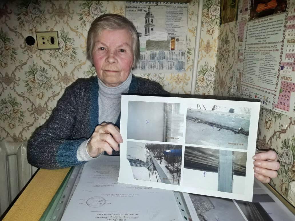 У 82-летней пенсионерки из Котельнича после капремонта уже девять лет течет крыша