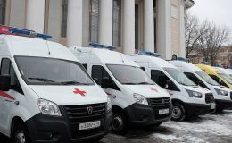 В Кировской области автопарк Единой службы скорой помощи пополнился новыми автомобилями