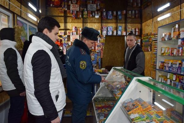 В Кирове провели мониторинг пиротехники