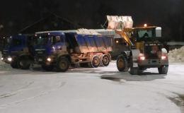 За три дня в Кирове вывезли почти 17 тысяч кубометров снега