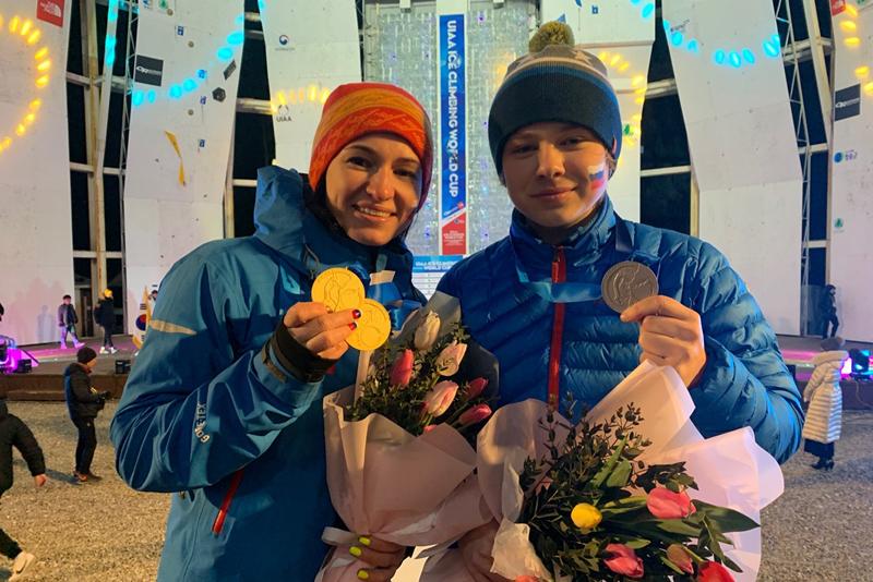 Кировские ледолазы стали победителями II этапа Кубка мира