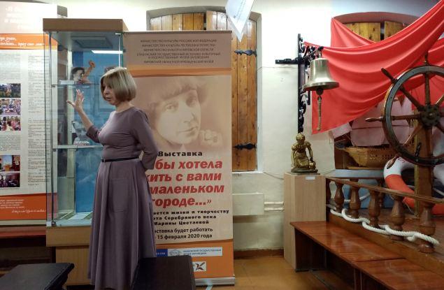 В Кирове открылась выставка о творчестве и жизни Марины Цветаевой