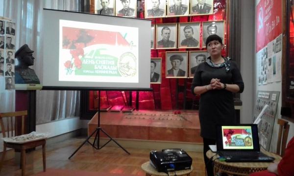 В Уржуме прошло мероприятие в честь снятия блокады Ленинграда