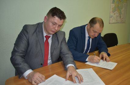 Партия «РОДИНА» подписала соглашение с кировским минлесхозом