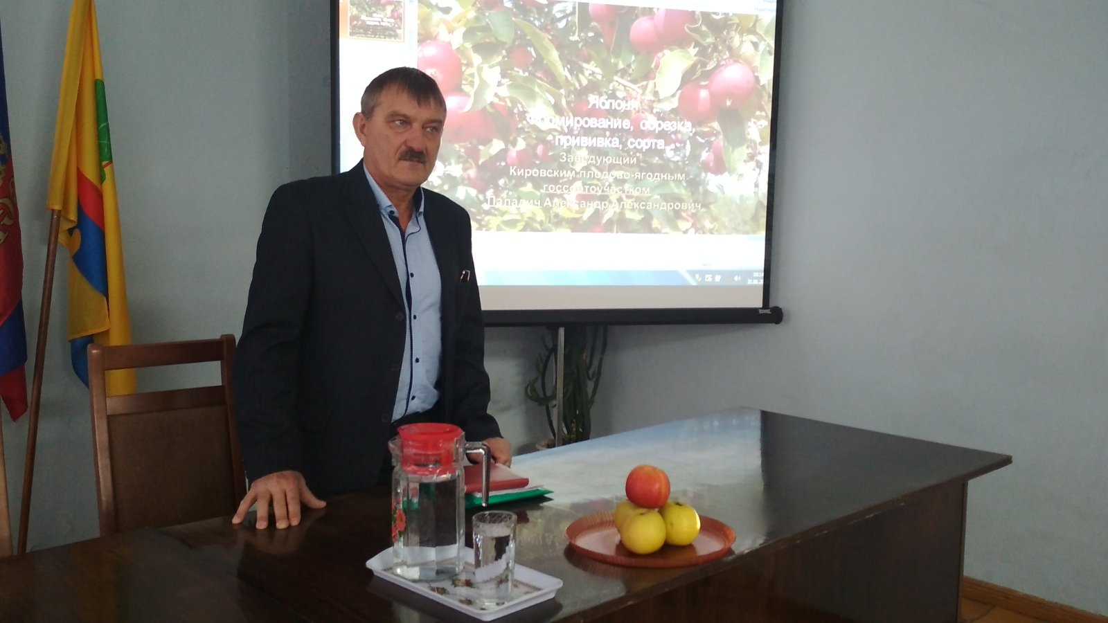 Школа садоводов Олега Валенчука побывала в Пижанке и Яранске