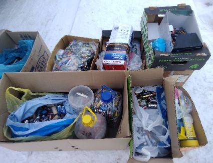 В Вятской гуманитарной гимназии прошла акция «Сдай батарейку – спаси ежика»