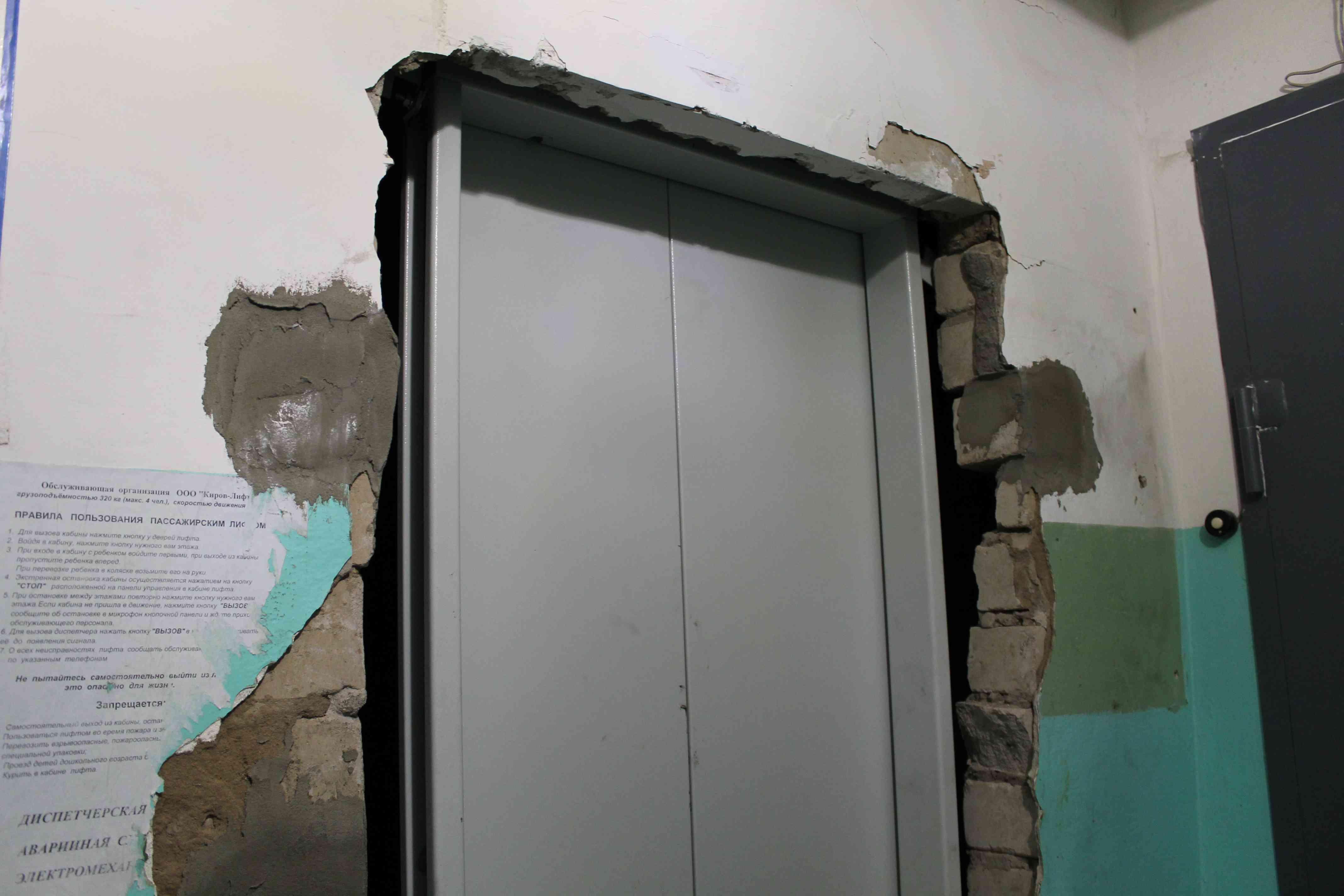 Подрядчик устанавливает лифты в других городах, пока у него горят сроки в Кирове