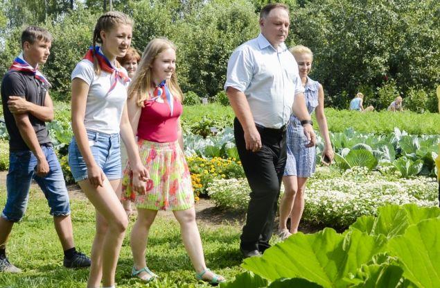 Кировские школьники учатся выращивать экологически чистые продукты