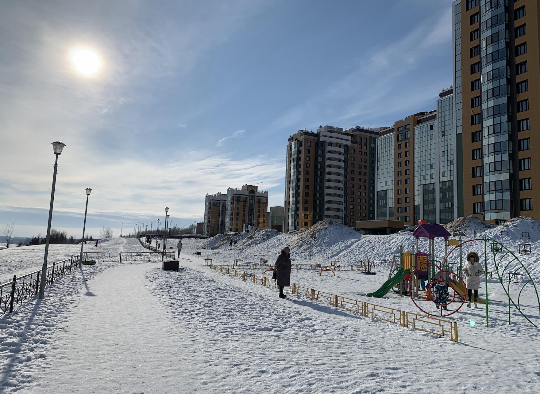 Весна в Кирове начинается со снегопадов и плюсовой температуры