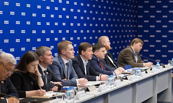 «Единая Россия» разработала оргплан работы в условиях короновируса