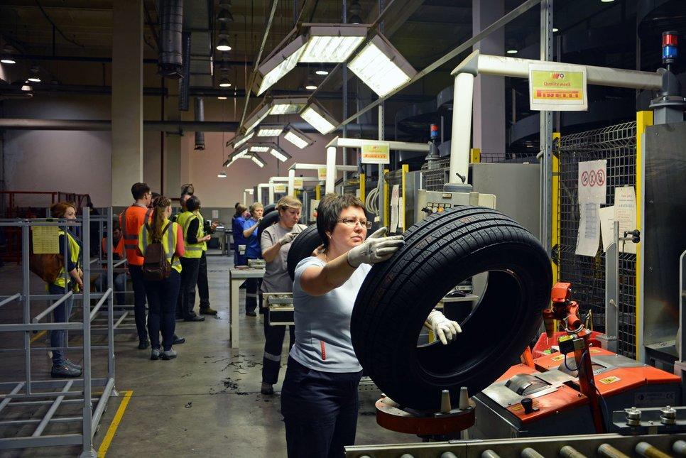 Кировский завод Pirelli приостановил производство в связи с коронавирусом