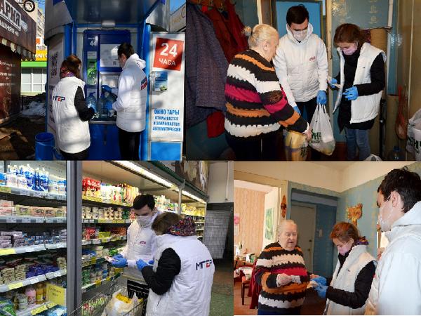 Кировские волонтеры оказали помощь пенсионерке на самоизоляции