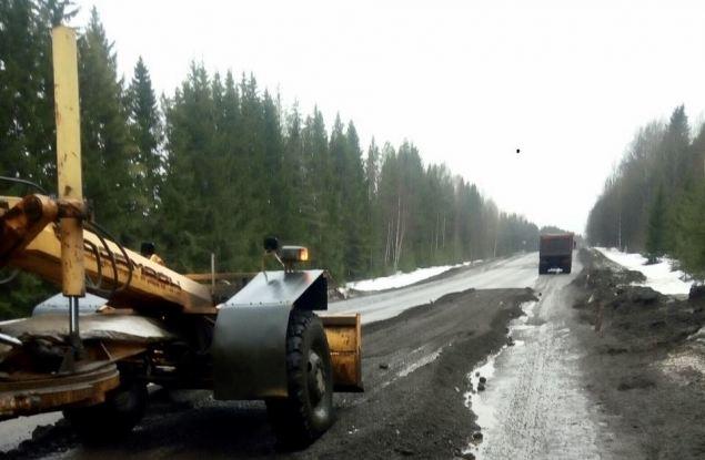 В Росавтодоре рассказали о ремонте трассы на Пермь