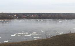 Ледоход на реке Вятке начался на две недели раньше обычного