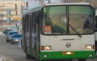 Количество общественного транспорта на дорогах города сократилось на две трети