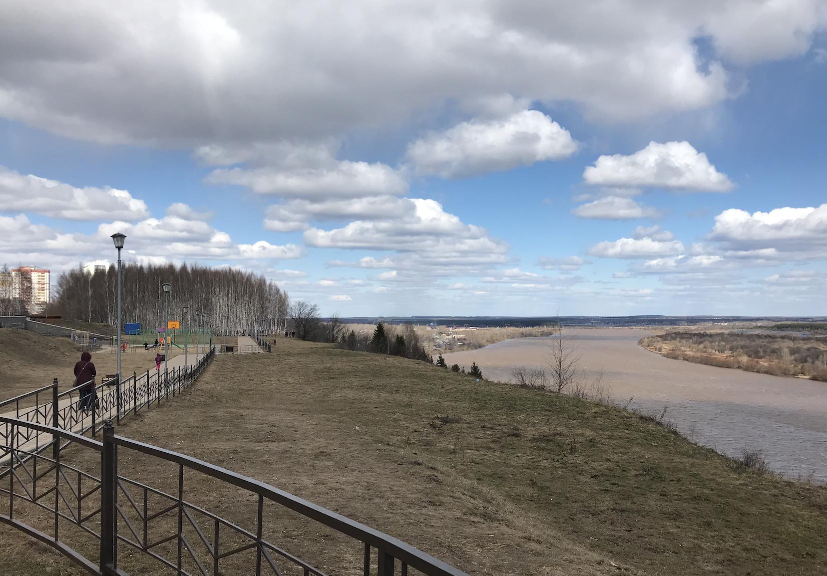 Последние дни апреля в Кирове будут дождливыми