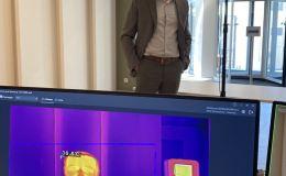 «Ростелеком» предлагает предприятиям высокоточную систему мониторинга температуры тела с помощью тепловизоров