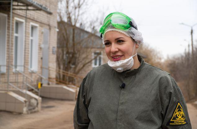 Врач Юлия Завражных о работе с ковид-больными