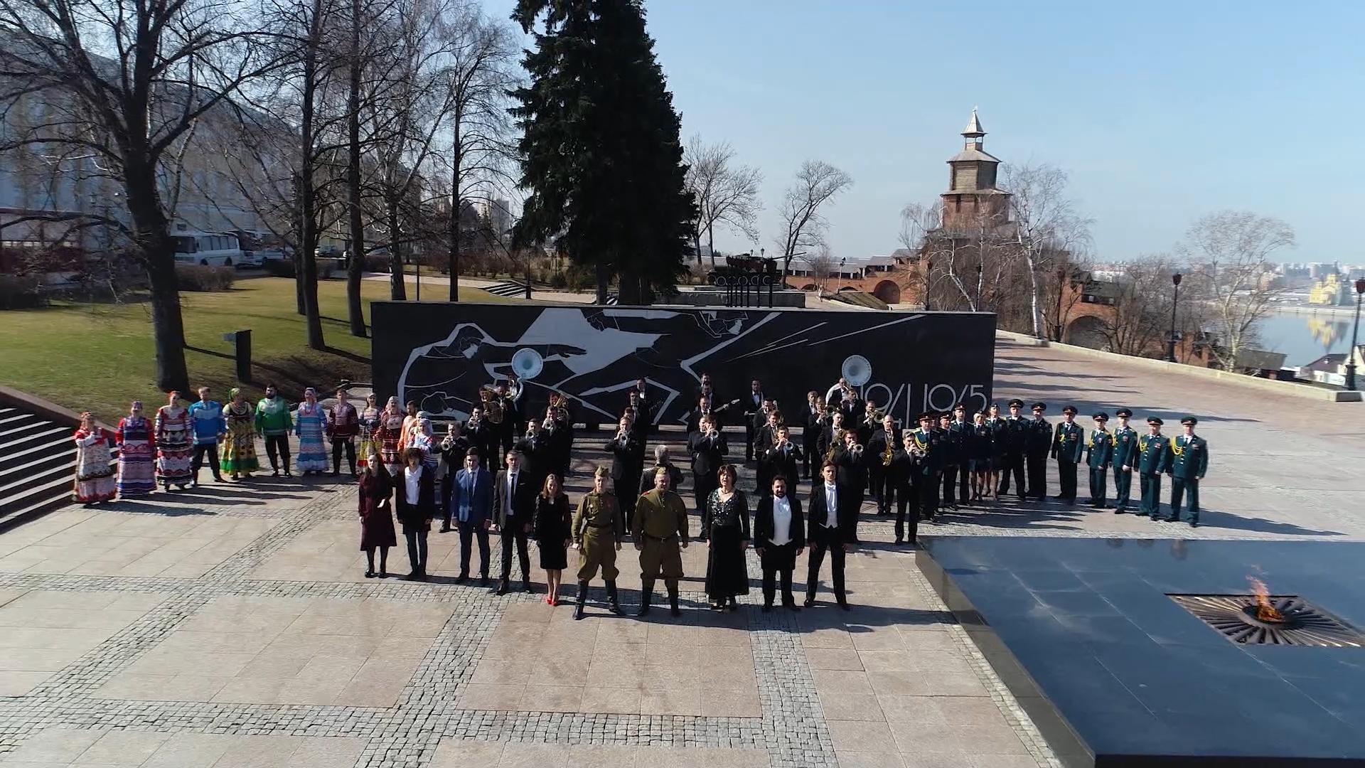 Нижегородские академические, народные и эстрадные исполнители поддержали марафон «Наш День Победы»