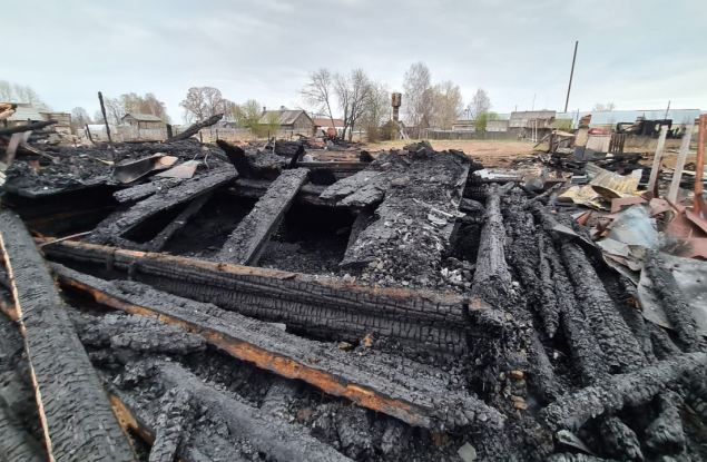 В Белохолуницком районе страшный пожар унес одну жизнь