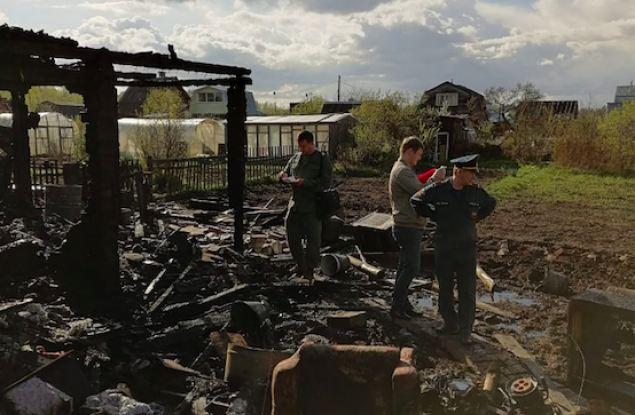 В Кирове в садовом домике погибли мама с дочкой
