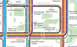 Дизайнер нарисовал новую версию схемы общественного транспорта Кирова