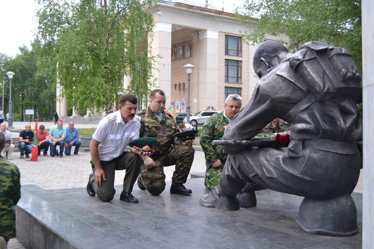 В Кирове празднуют День пограничника