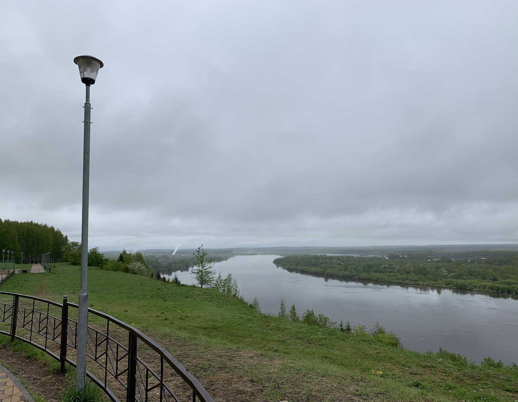 Последние дни весны в Кирове будут пасмурными и дождливыми