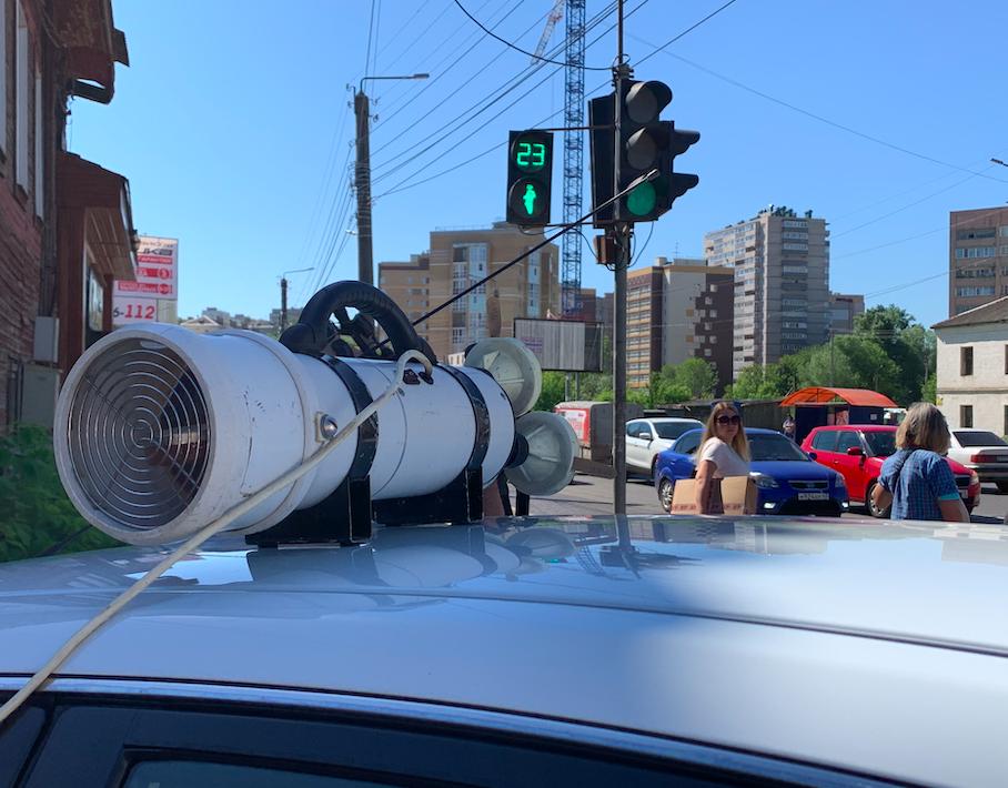 Загазованность воздуха в Кирове проверяют на двух перекрестках