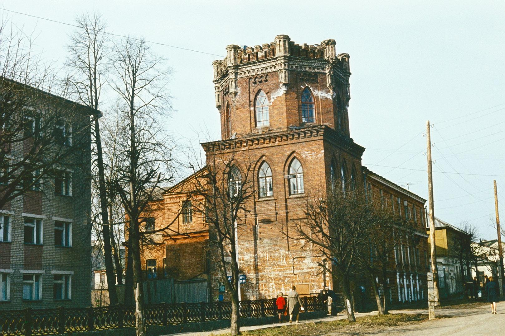 В водонапорной башне в Слободском появится музей