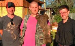 Рыболов из Кирова нашел в Быстрице кость носорога