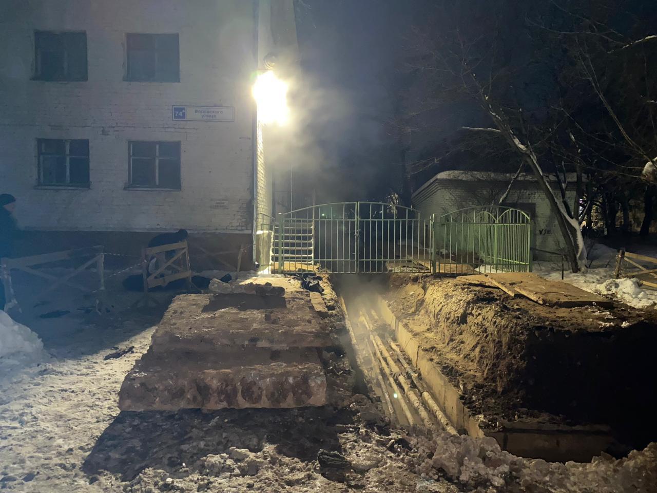 В суд передано дело о падении в траншею в центре Кирова