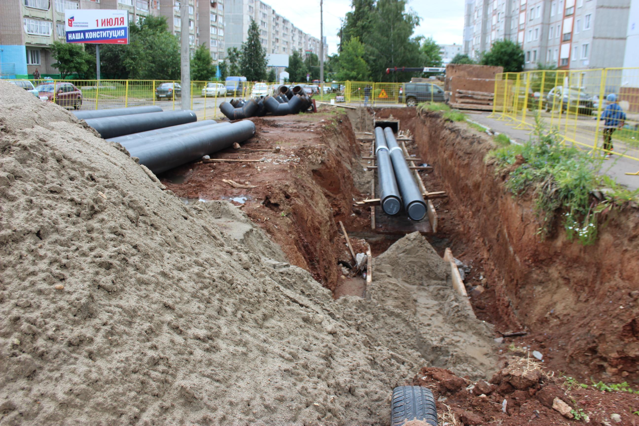 КТК проводит масштабную реконструкцию магистральных тепловых сетей в Юго-западном районе Кирова