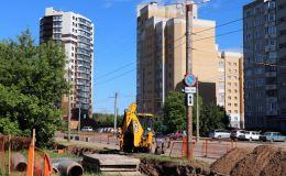 В юго-западном микрорайоне Кирова будет обновлено  более 1500 метров теплосетей