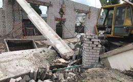 Обрушившийся на днях торговый центр в Зуевке так и не будет достроен
