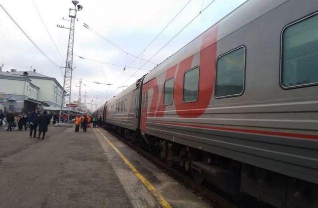 """Фирменный поезд """"Вятка"""" возобновит свое движение с 10 июля"""