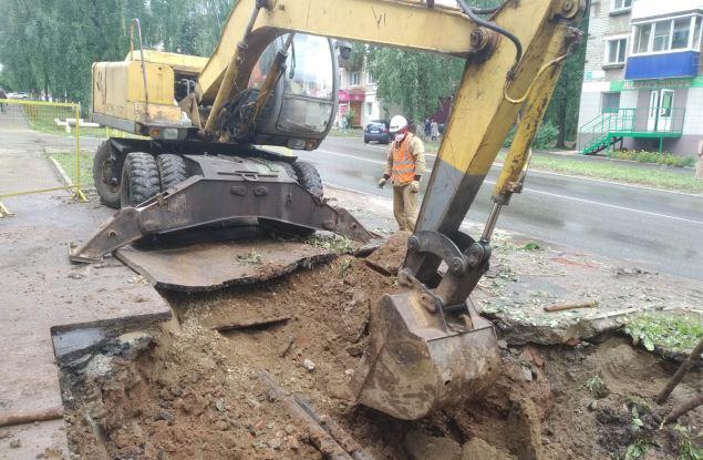 КТК начала модернизацию теплосети на проспекте Мира  в Кирово-Чепецке