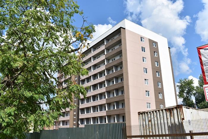 В Кирове возводят сразу два многоэтажных дома для переселенцев