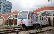 В московском метро появился поезд, рассказывающий о вятском промысле