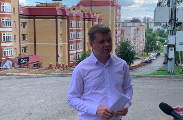 Наконец-то дождались! В Кирове заасфальтировали окончание улицы Казанской