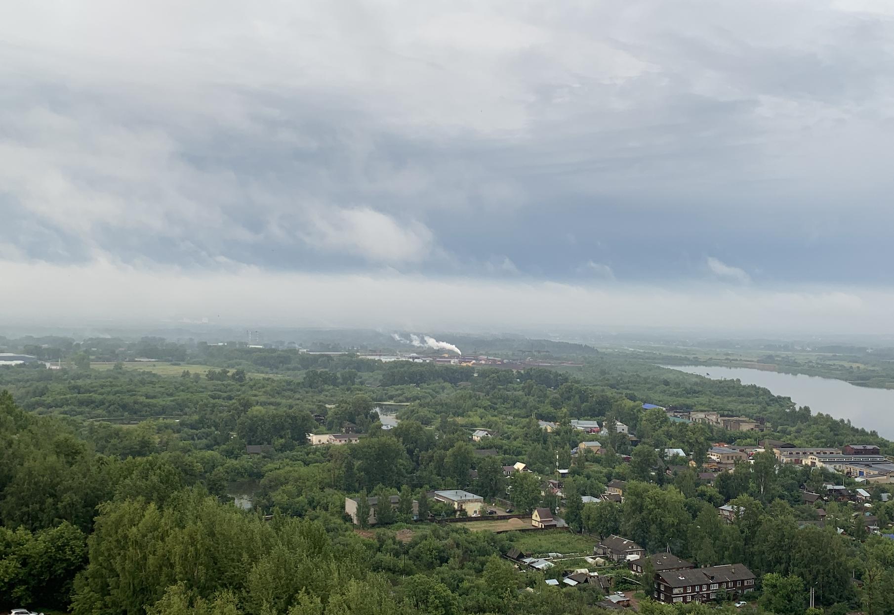 В середине августа температура в Кирове не превысит 20 градусов